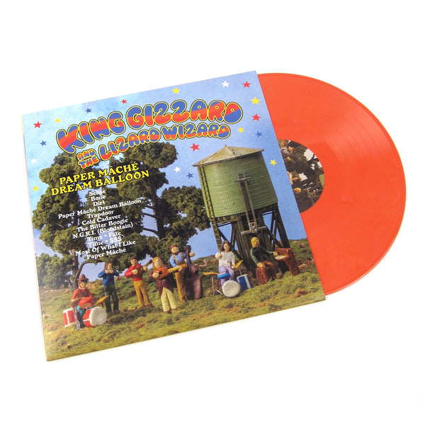 King Gizzard and the Lizard Wizard: Paper Mache Dream Balloon (Colored Vinyl) Vinyl LP