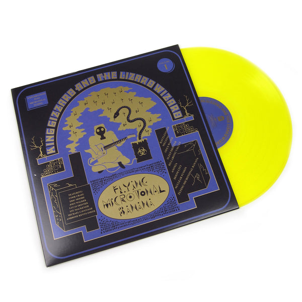 King Gizzard And The Lizard Wizard: Flying Microtonal Banana (Colored Vinyl) Vinyl LP
