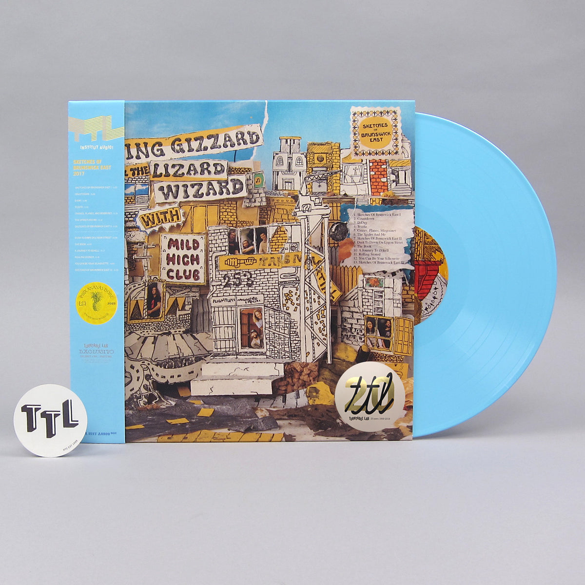 King Gizzard And The Lizard Wizard With Mild High Club: Sketches Of Brunswick East (Colored Vinyl) Vinyl LP - Turntable Lab Exclusive - PRE-ORDER