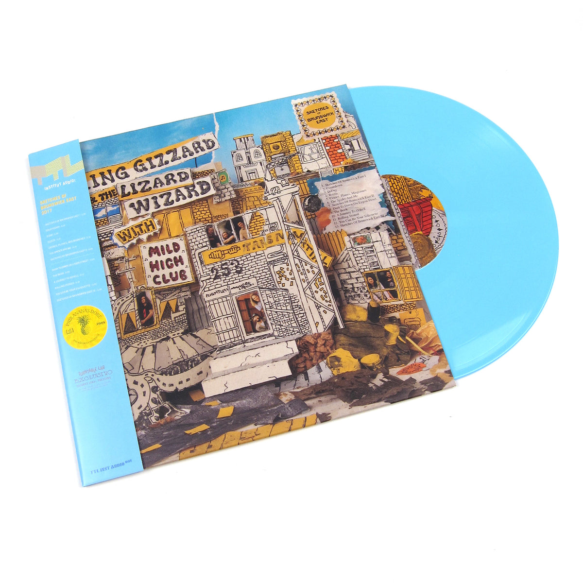 King Gizzard And The Lizard Wizard With Mild High Club: Sketches Of Brunswick East (Colored Vinyl) Vinyl LP - Turntable Lab Exclusive - LIMIT 1 PER CUSTOMER