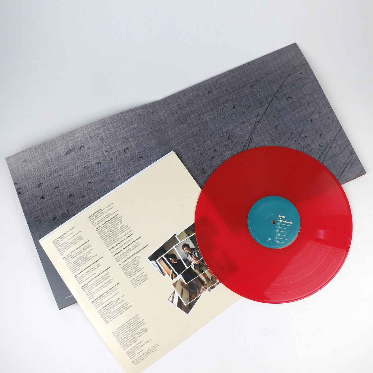 Kings Of Convenience: Versus Red Vinyl LP