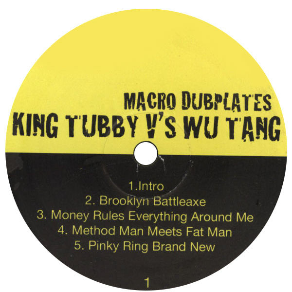 Wu-Tang Clan: King Tubby vs Wu-Tang: Macro Dubplates LP