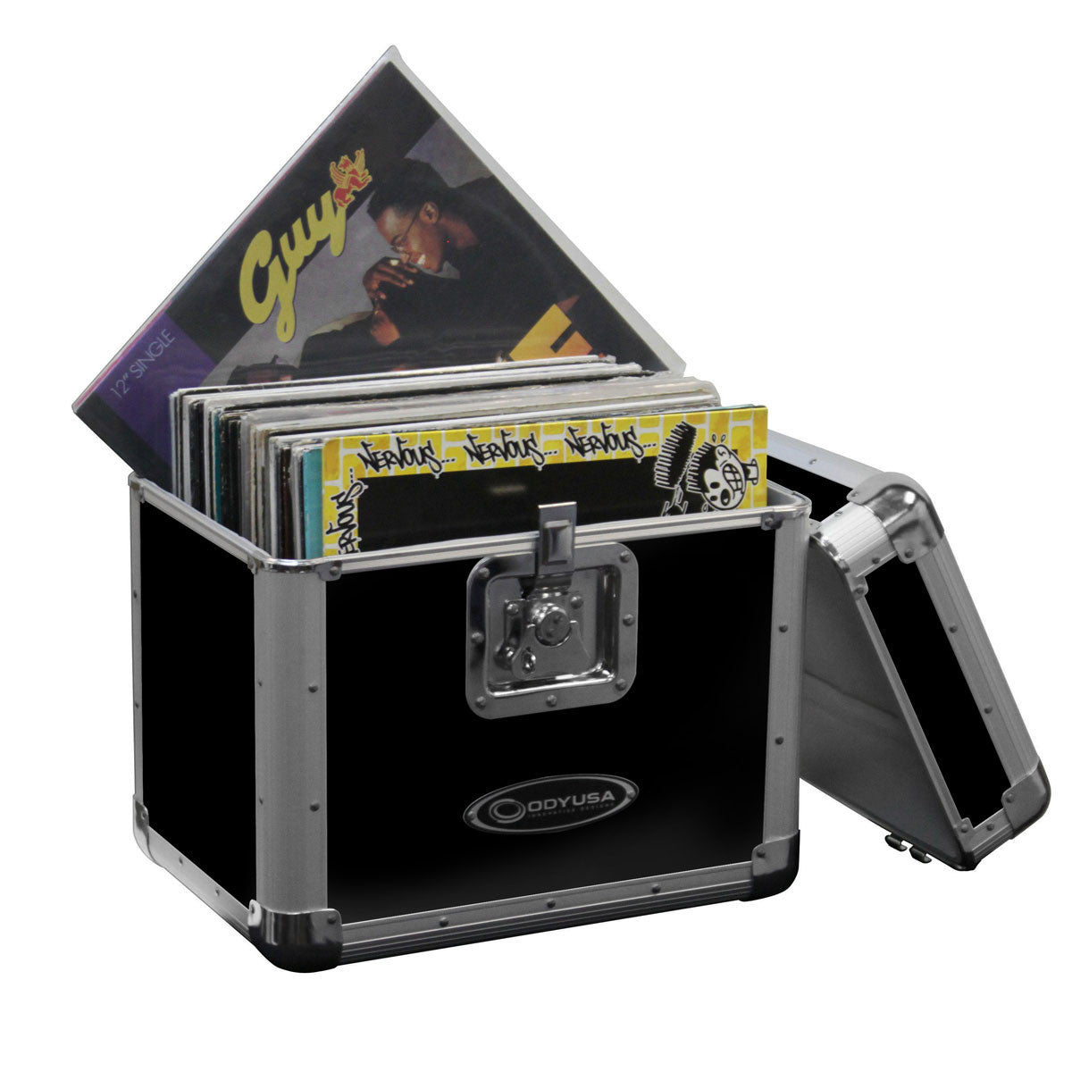 Odyssey: Stacking Record / Utility KROM Case - Black (KLP2BLK)
