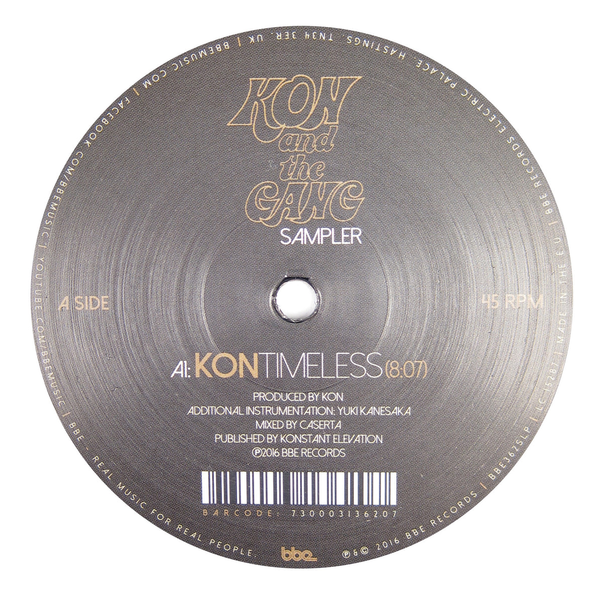 Kon / Rainer Truby: Truccy - Timeless / Closer Vinyl 12""