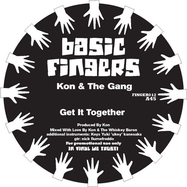 Kon & The Gang: Get It Together / Strong Love (Everlasting) 12""