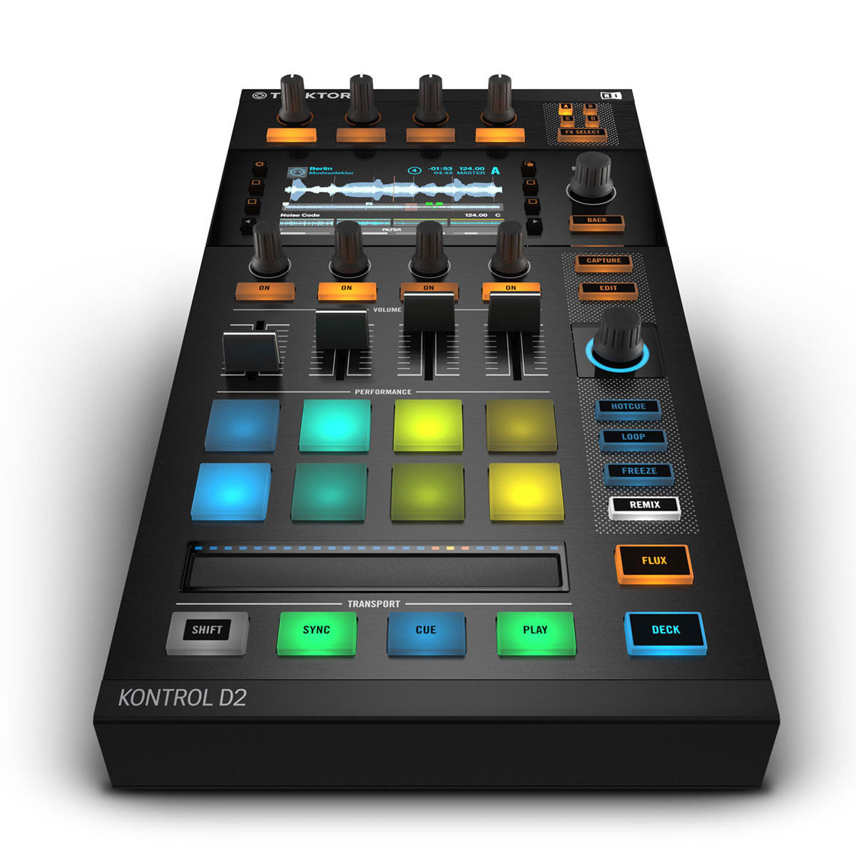 Native Instruments: Kontrol D2 Controller