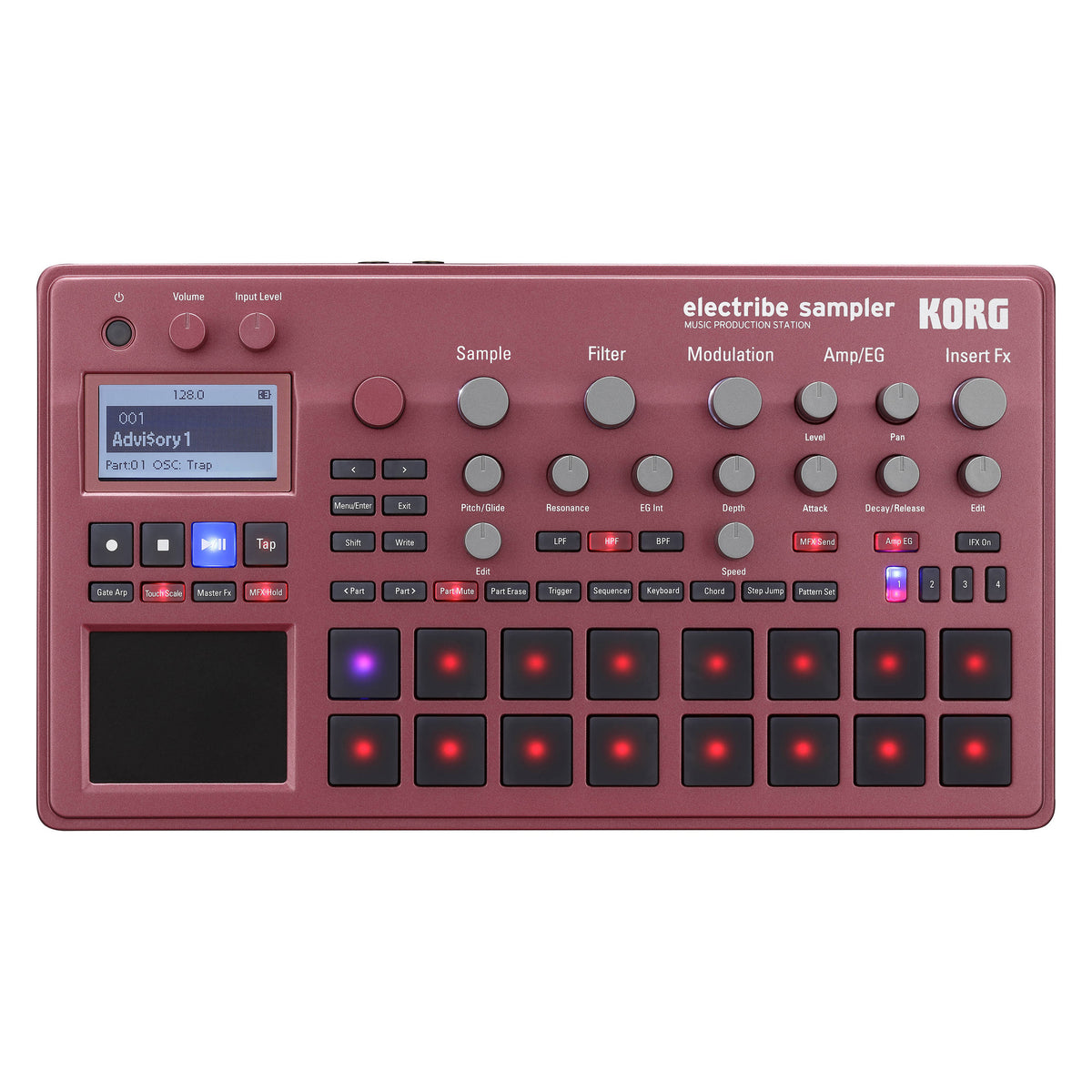 Korg: Electribe Sample Based Production Station - Red (electribe2srd)
