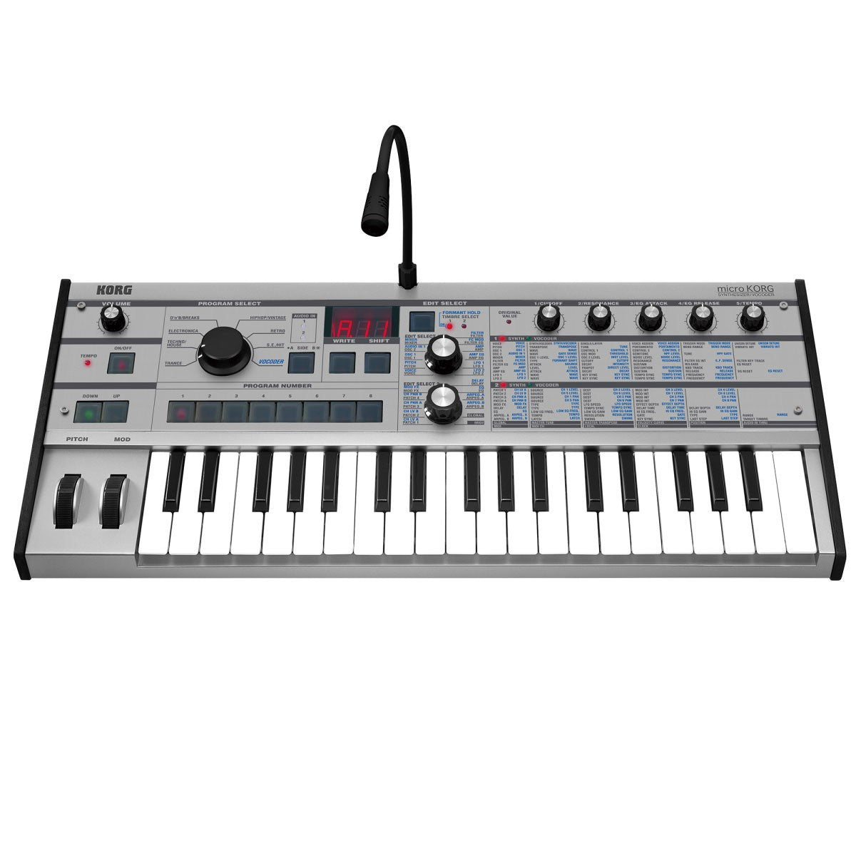 Korg: microKORG Synthesizer - Platinum Limited Edition