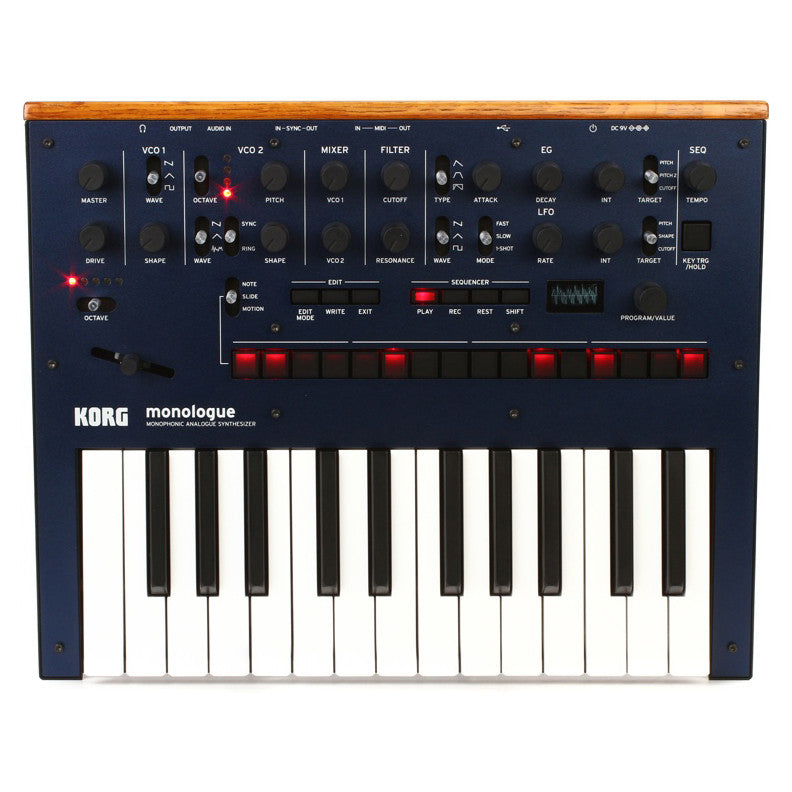 Korg: Monologue Monophonic Analog Synthesizer - Blue