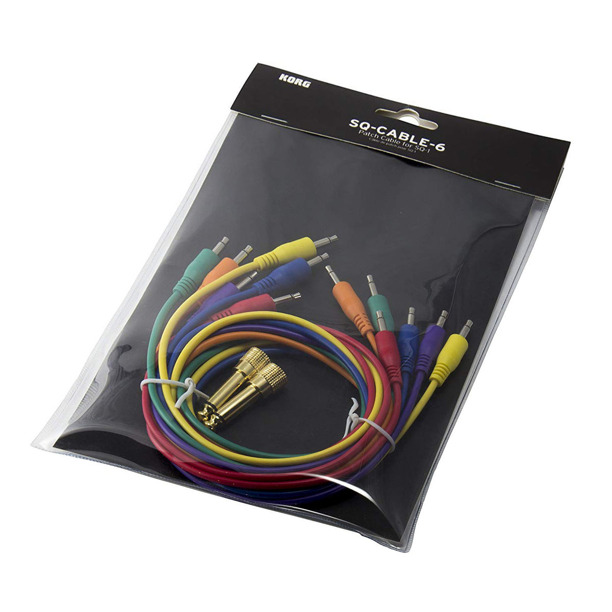 Korg: Cable Pack For SQ-1, MS-20M (SQCABLE6)