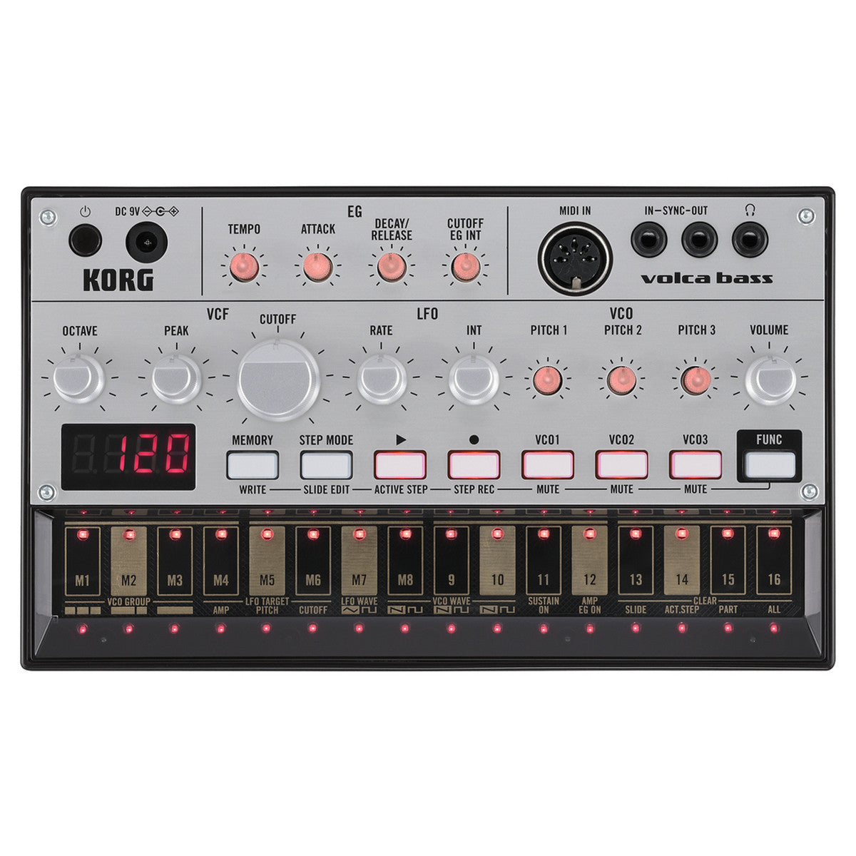 Korg: Volca Bass Analogue Bass Machine