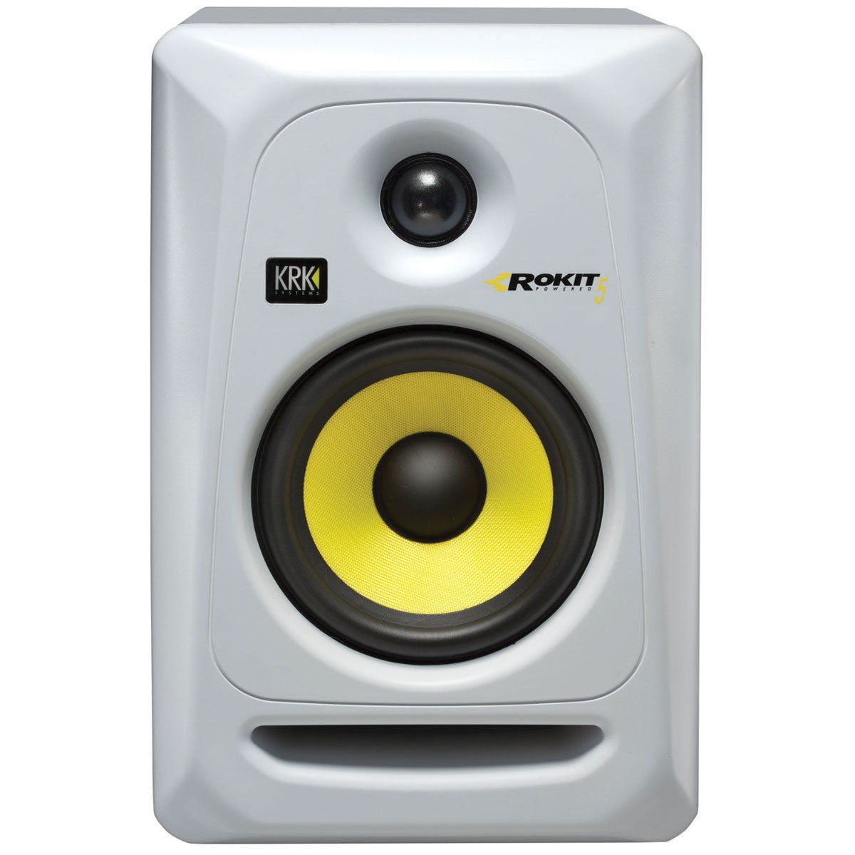 KRK: Rokit 5 Generation 3 Powered Studio Monitor (RP5G3) - White angle front