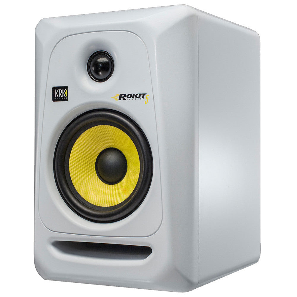 KRK: Rokit 5 Generation 3 Powered Studio Monitor (RP5G3) - White angle