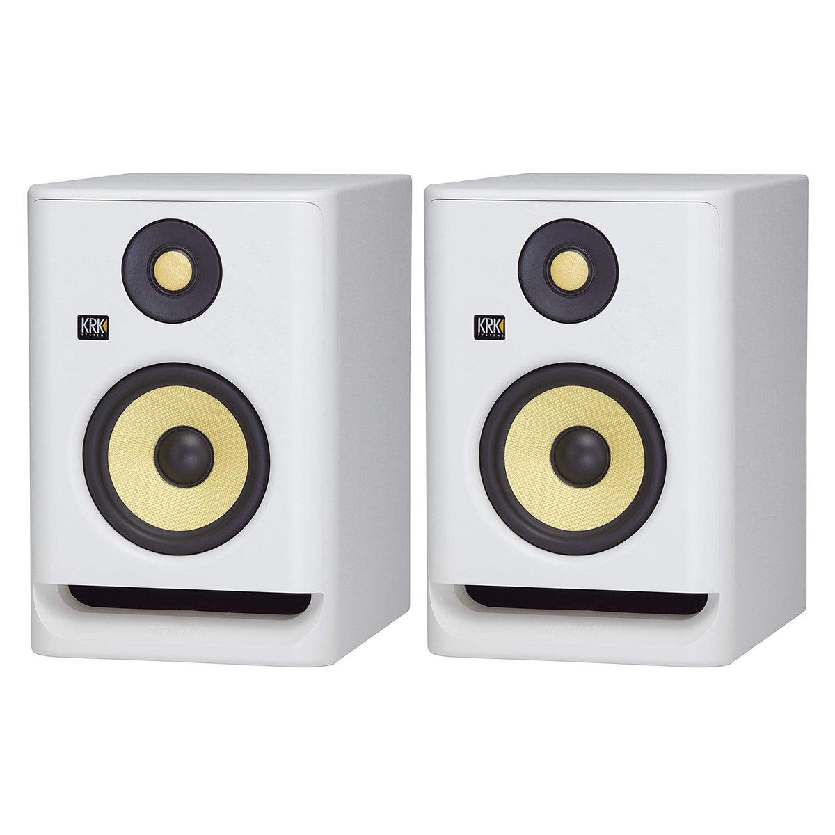 KRK: Rokit RP5 G4 Pro Studio Monitors - Pair / White