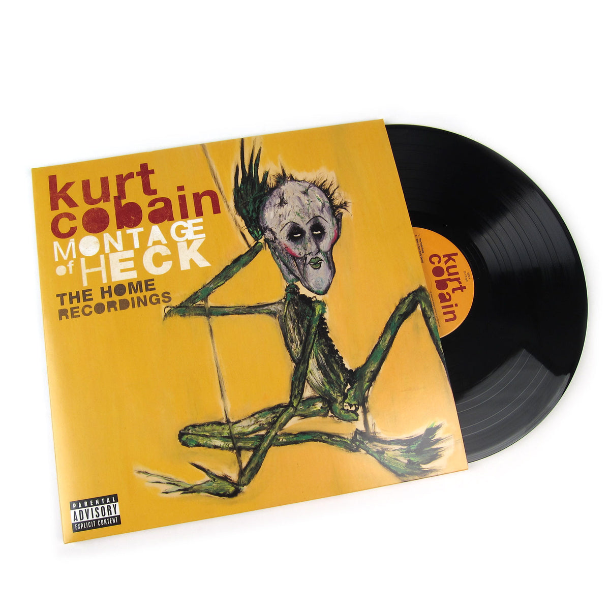 Kurt Cobain: Montage Of Heck - The Home Recordings (180g) Vinyl 2LP