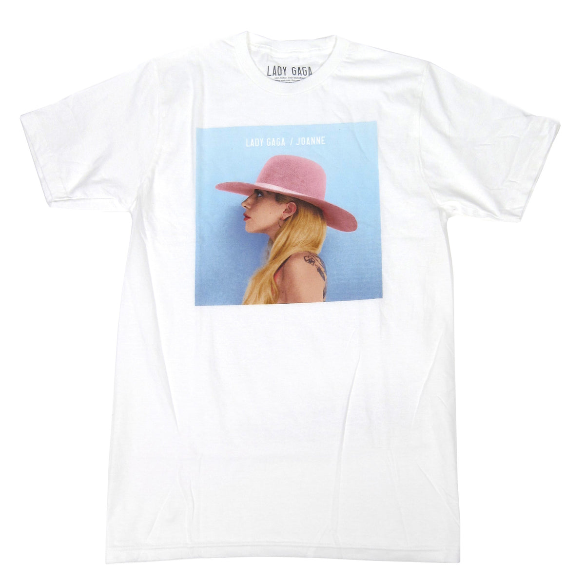 Lady Gaga: Joanne Album Cover Shirt - White