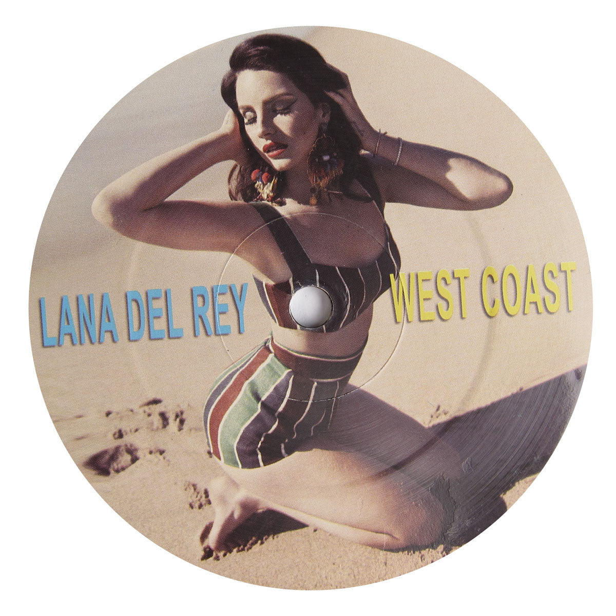 Lana Del Rey: West Coast Remixes (Four Tet, MK, Black Keys) Vinyl 12""