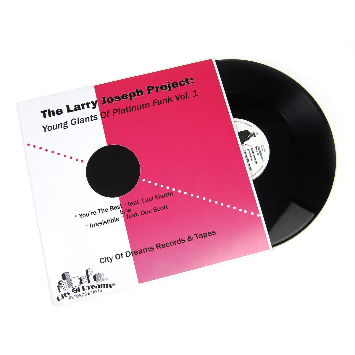 The Larry Joseph Project: Young Giants Of Platinum Funk Vol.1 Vinyl 12""