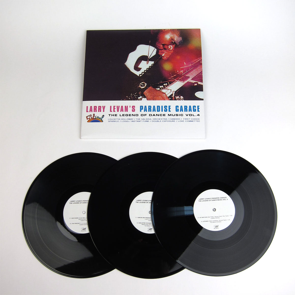 Larry Levan: Larry Levan's Paradise Garage - The Legend Of Dance Music Vol.4 Vinyl 3LP