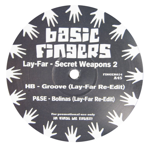 Lay-Far: Secret Weapons 2 (Disco Funk Edits) Vinyl 12""
