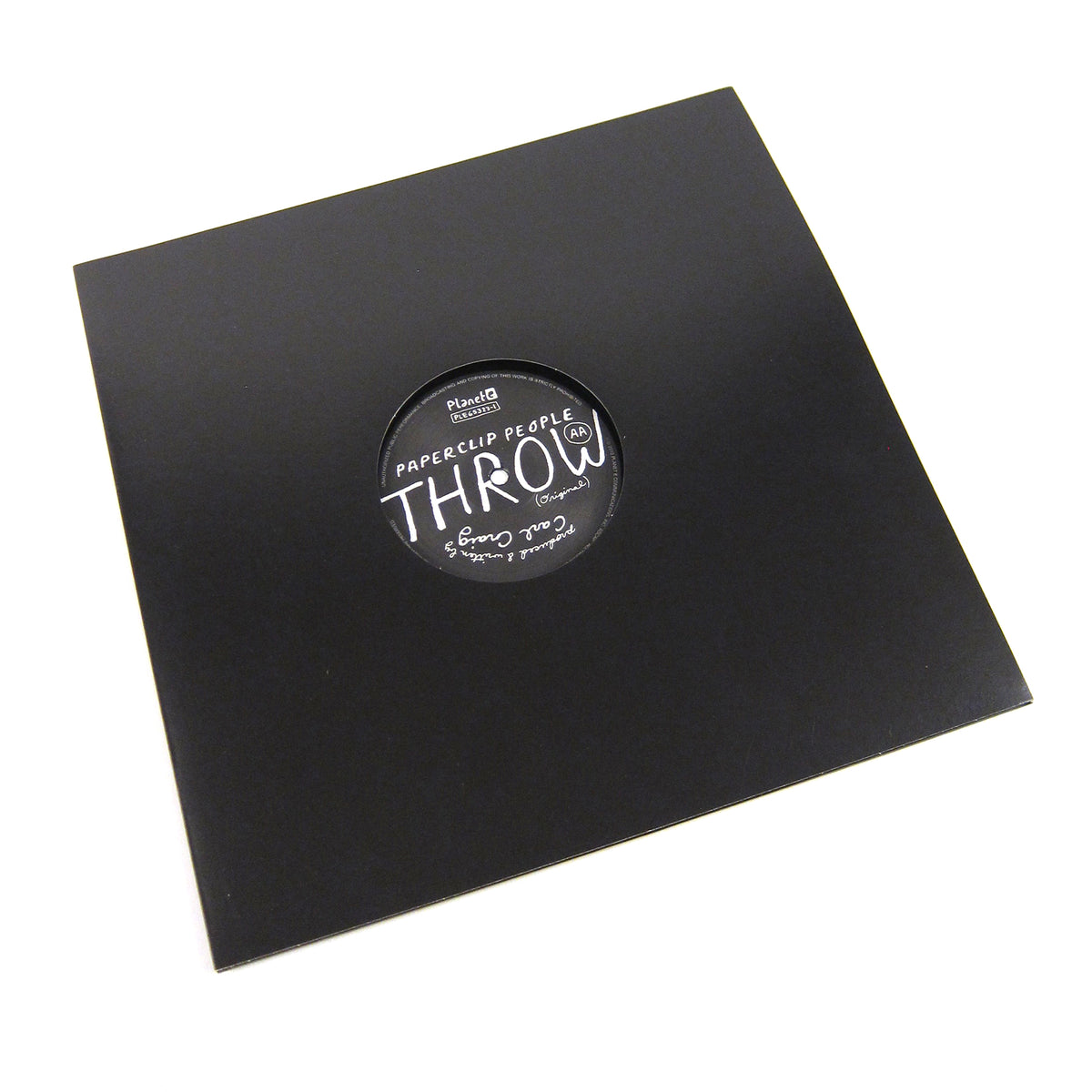 LCD Soundsystem / Paperclip People: Throw (Carl Craig) Vinyl 12""