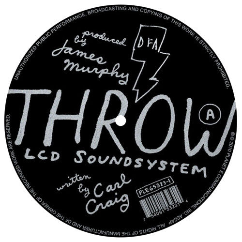 LCD Soundsystem: Throw (Carl Craig) 12""