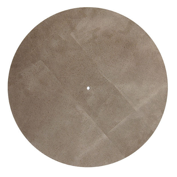 Pro-Ject: Leather It Platter Mat - Grey back