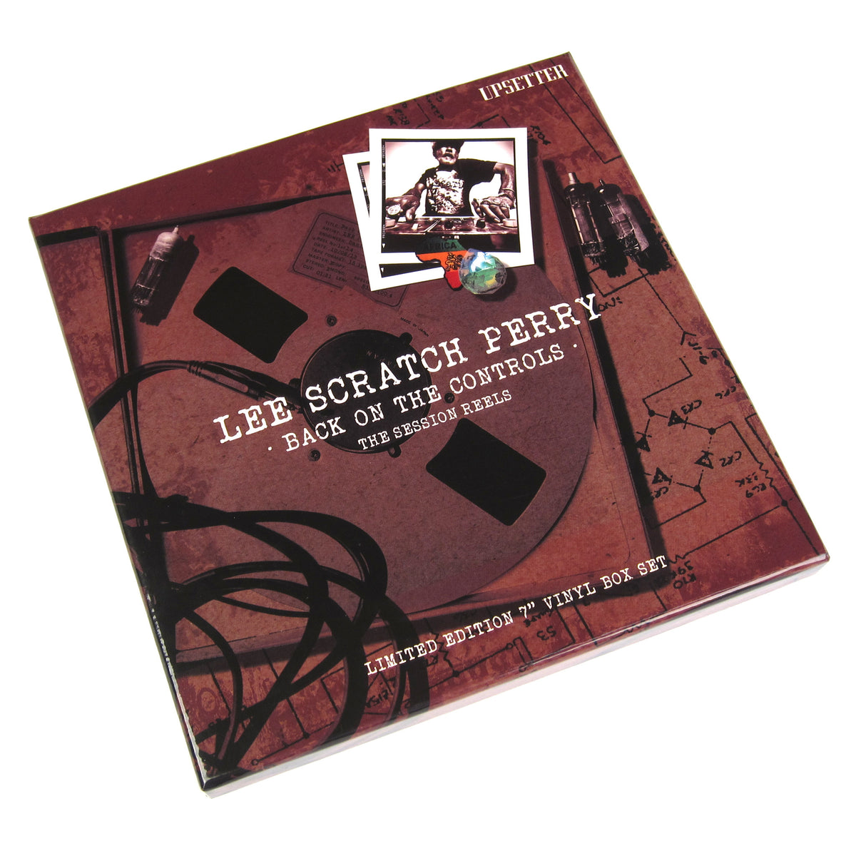"Lee Scratch Perry: Back On The Controls - The Session Reels 5x7"" Boxset (Record Store Day)"