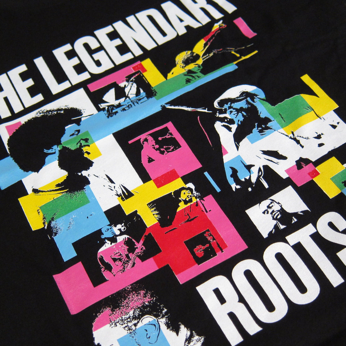 The Roots: Legendary Rockers Shirt - Black detail