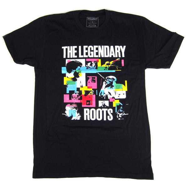 The Roots: Legendary Rockers Shirt - Black