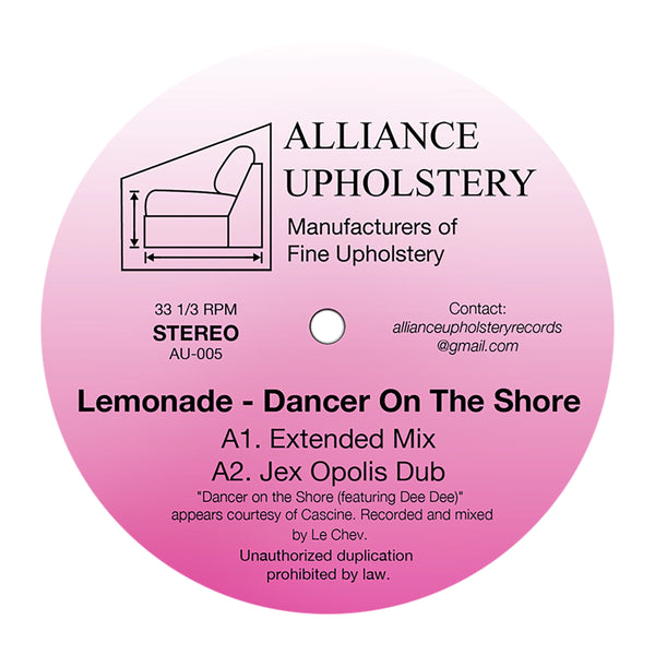 Lemonade: Dancer On The Shore Vinyl 12""