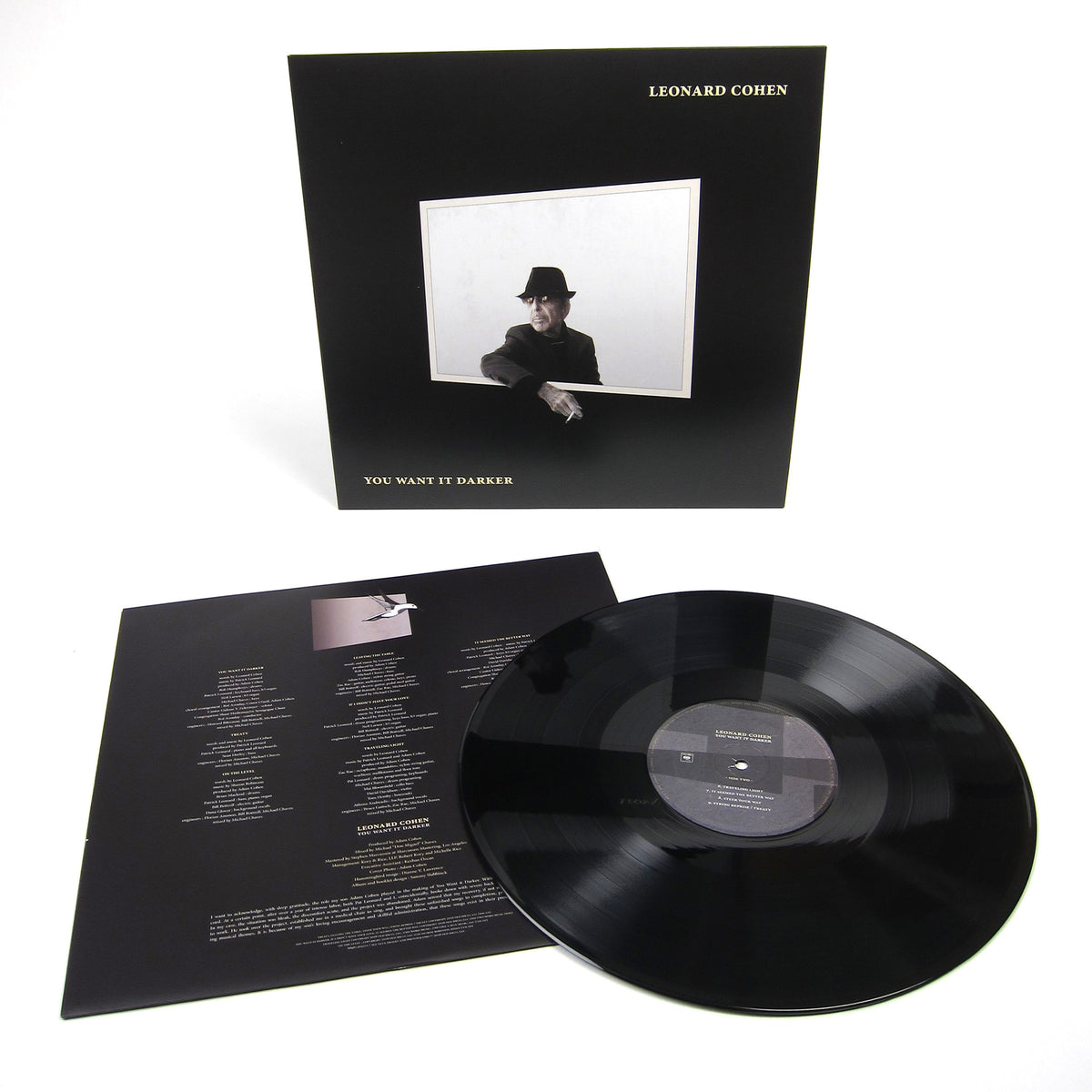 Leonard Cohen: You Want It Darker Vinyl LP