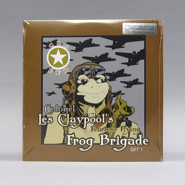 Colonel Les Claypool's Fearless Flying Frog Brigade: Live Frogs Sets 1 & 2 (Colored Vinyl) Vinyl 3LP (Record Store Day)