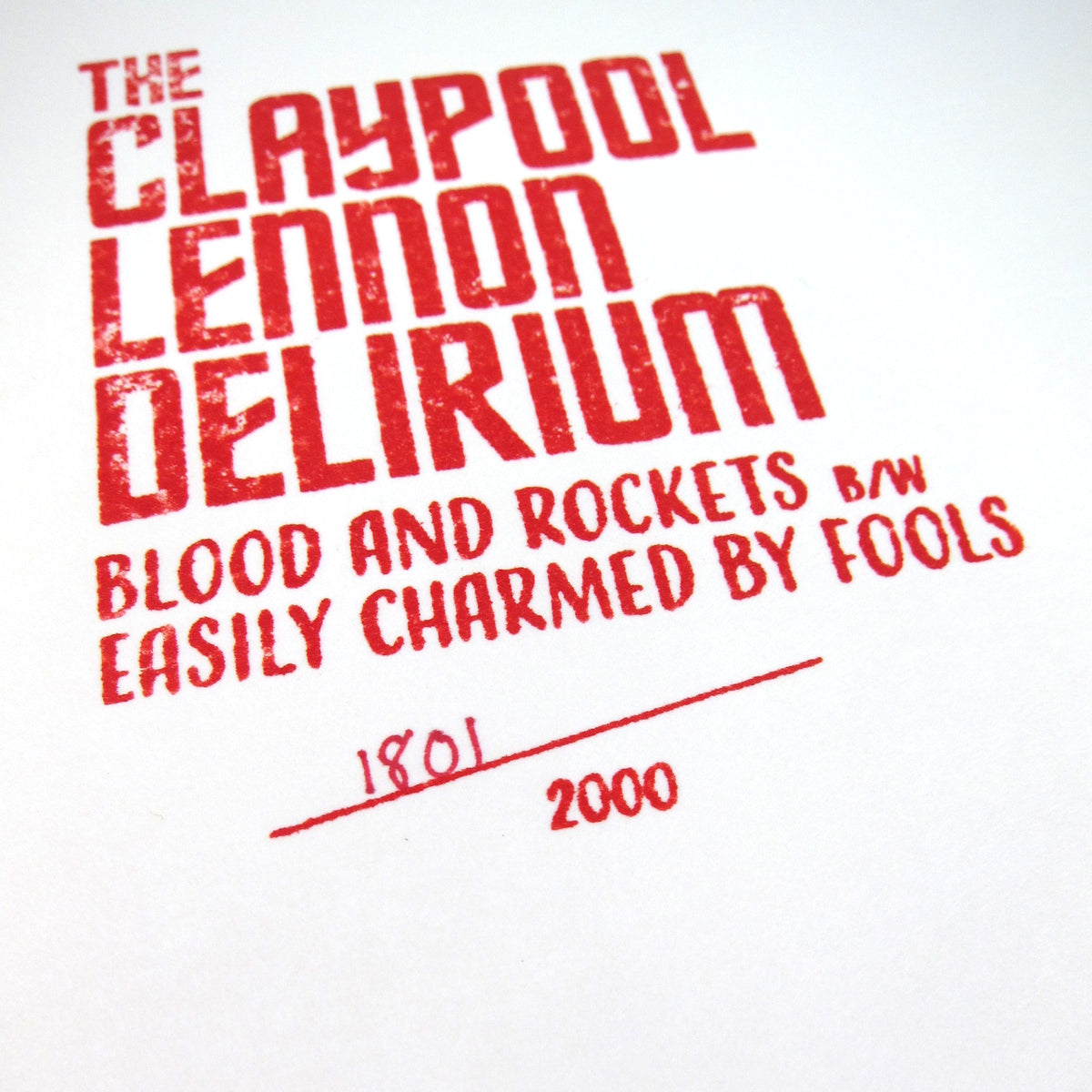 The Claypool Lennon Delirium: Blood And Rockets (Colored Vinyl) Vinyl 10""