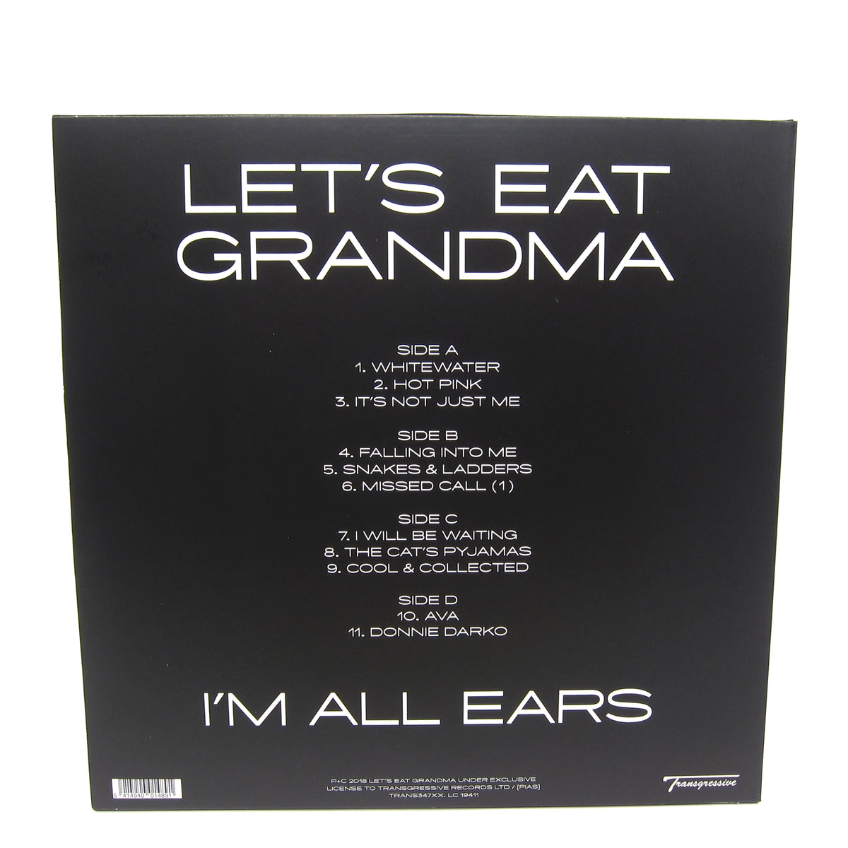 Let's Eat Grandma: I'm All Ears (Indie Exclusive Colored Vinyl) Vinyl 2LP