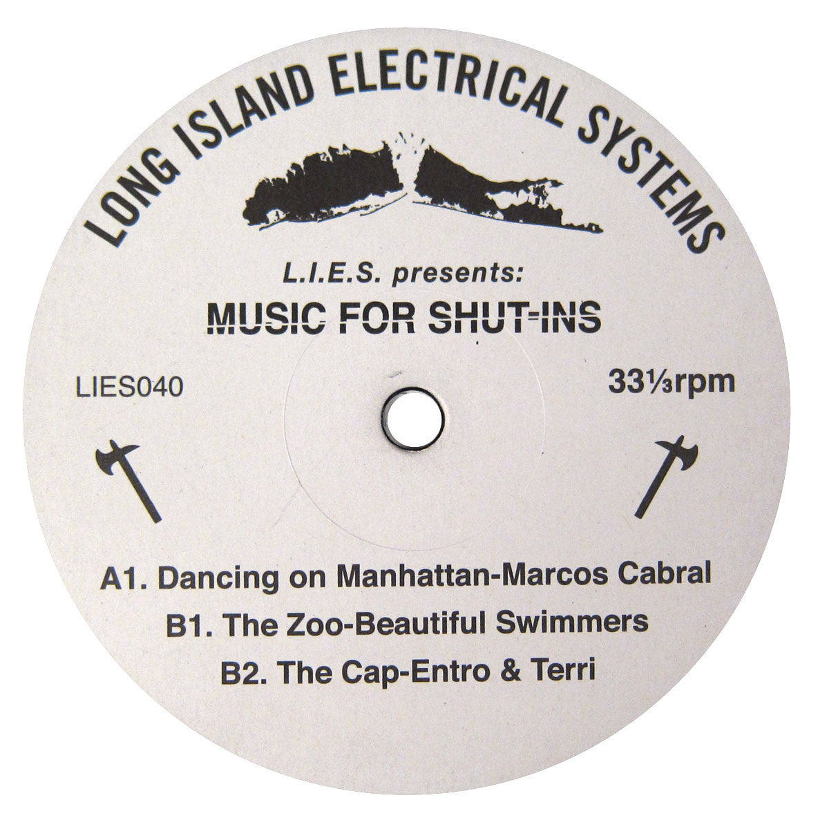 Long Island Electrical Systems: Music For Shut-Ins Sampler (Marcos Cabral, Beautiful Swimmers) Vinyl 12""