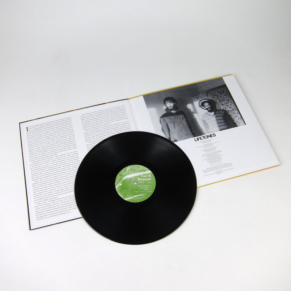 Lifetones: For A Reason Vinyl LP