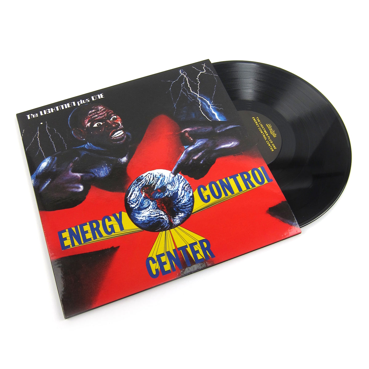 The Lightmen Plus One: Energy Control Center Vinyl 2LP