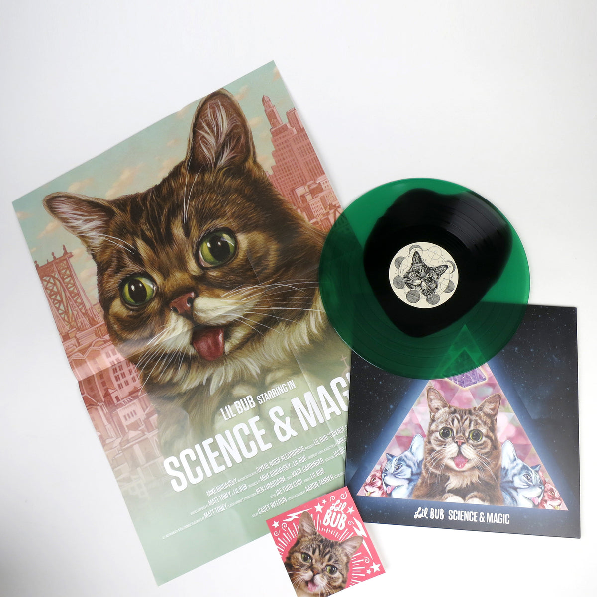 Lil Bub: Science & Magic Colored Vinyl