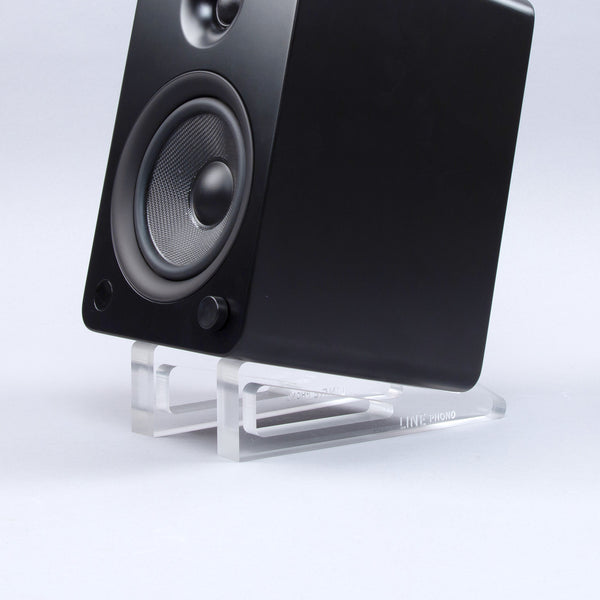 Line Phono: Acrylic Angler Speaker Stands