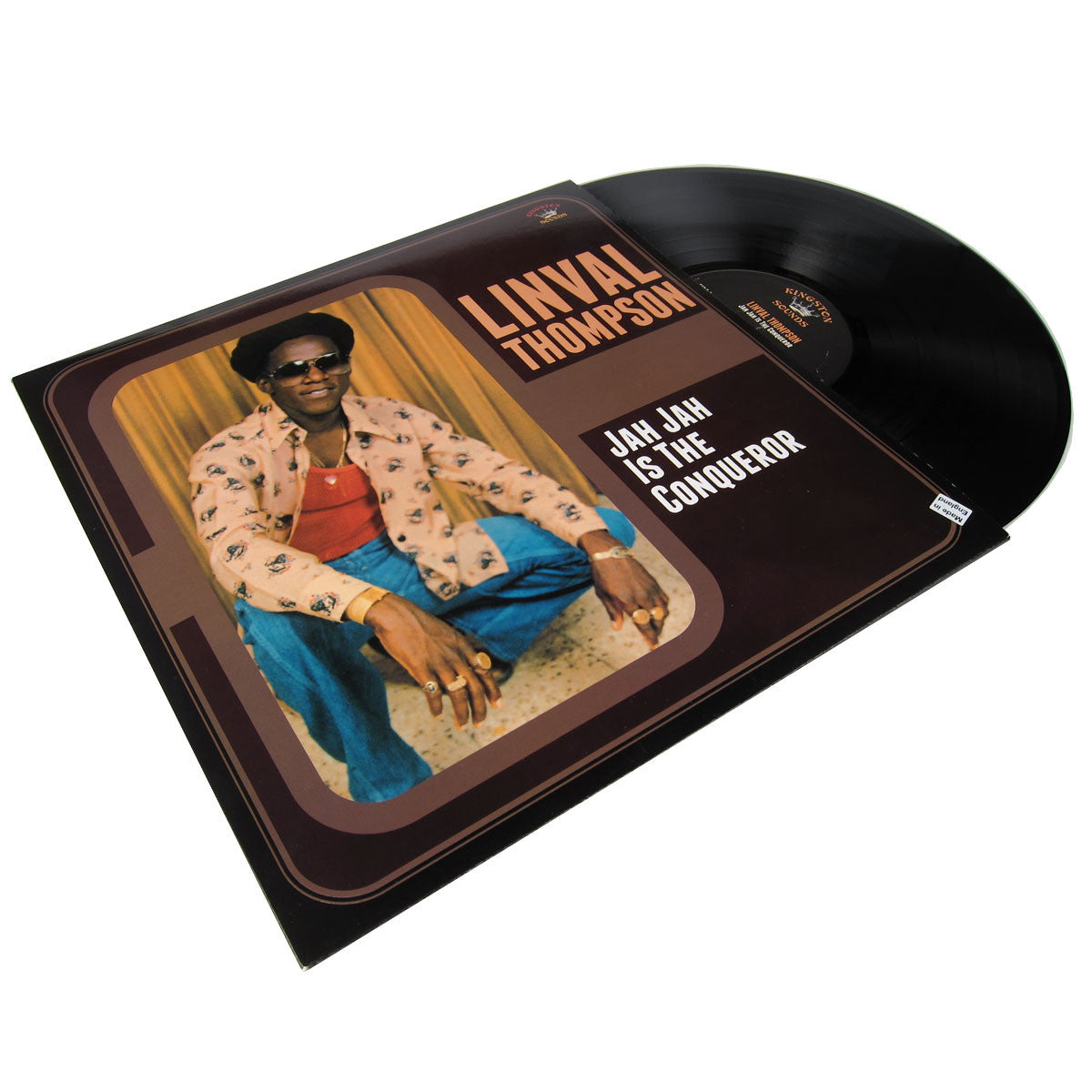 Linval Thompson: Jah Jah Is The Conqueror LP