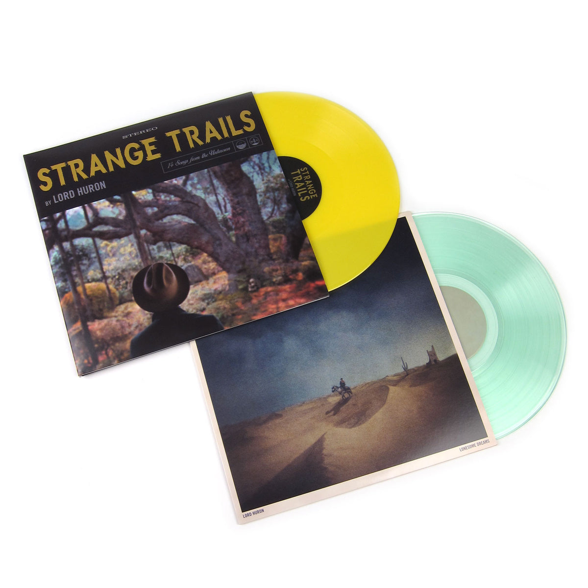 Lord Huron: Colored Vinyl LP Album Pack (Lonesome Dreams, Strange Trails)