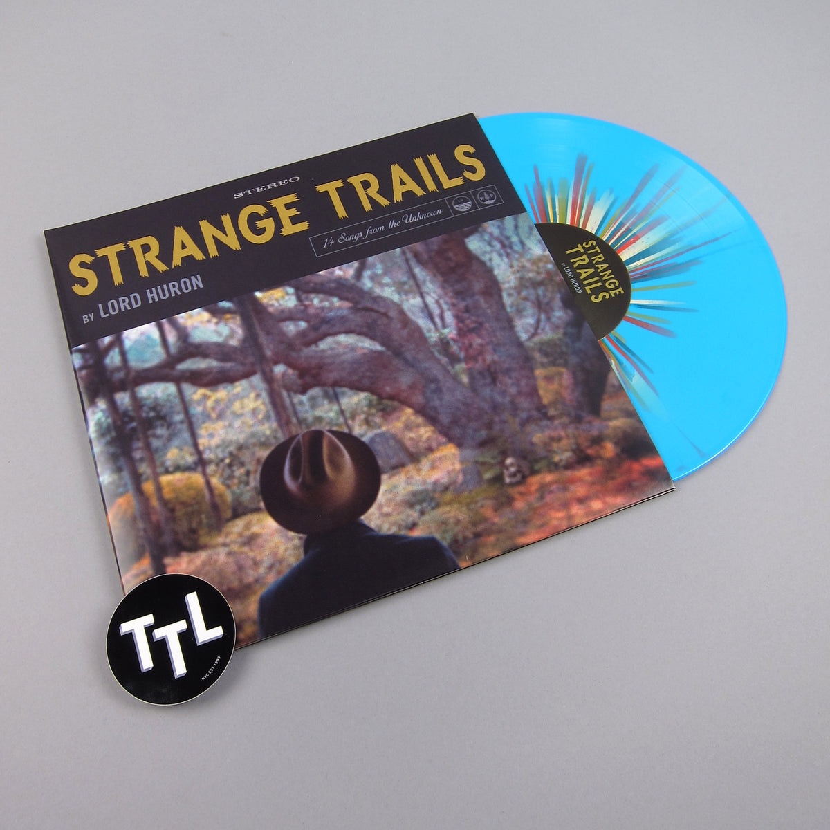 Lord Huron: Strange Trails (Splatter Color Vinyl) Vinyl 2LP - Turntable Lab Exclusive - LIMIT 2 PER CUSTOMER