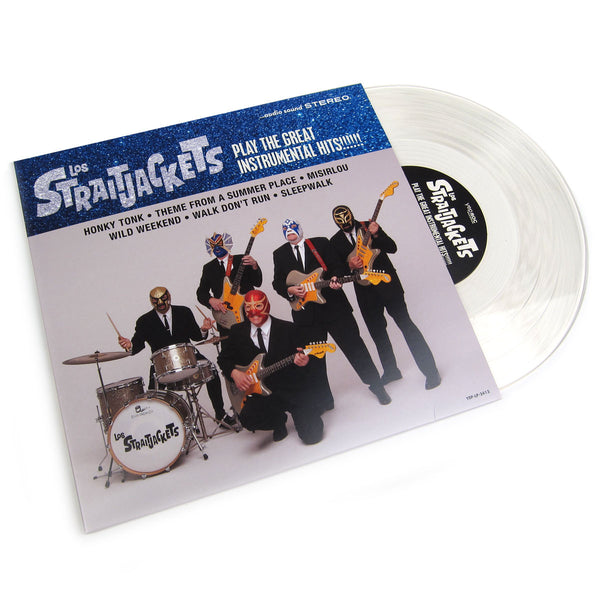 "Los Straightjackets: Play Some Of The Great Instrumental Hits (Clear Vinyl, Free MP3) Vinyl 10"" (Record Store Day)"