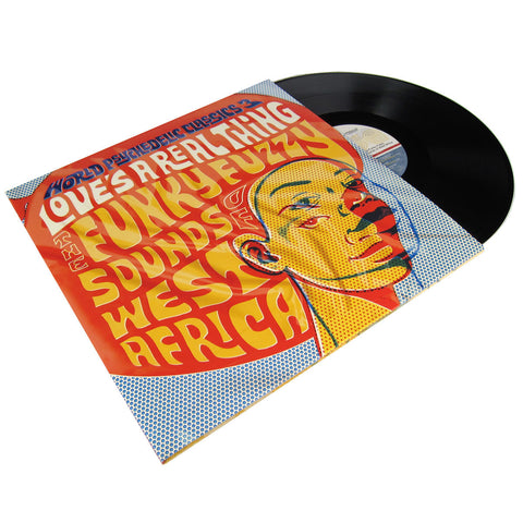 Luaka Bop: World Psychedelic Classics 3 - Love's A Real Thing (Free MP3) Vinyl 2LP