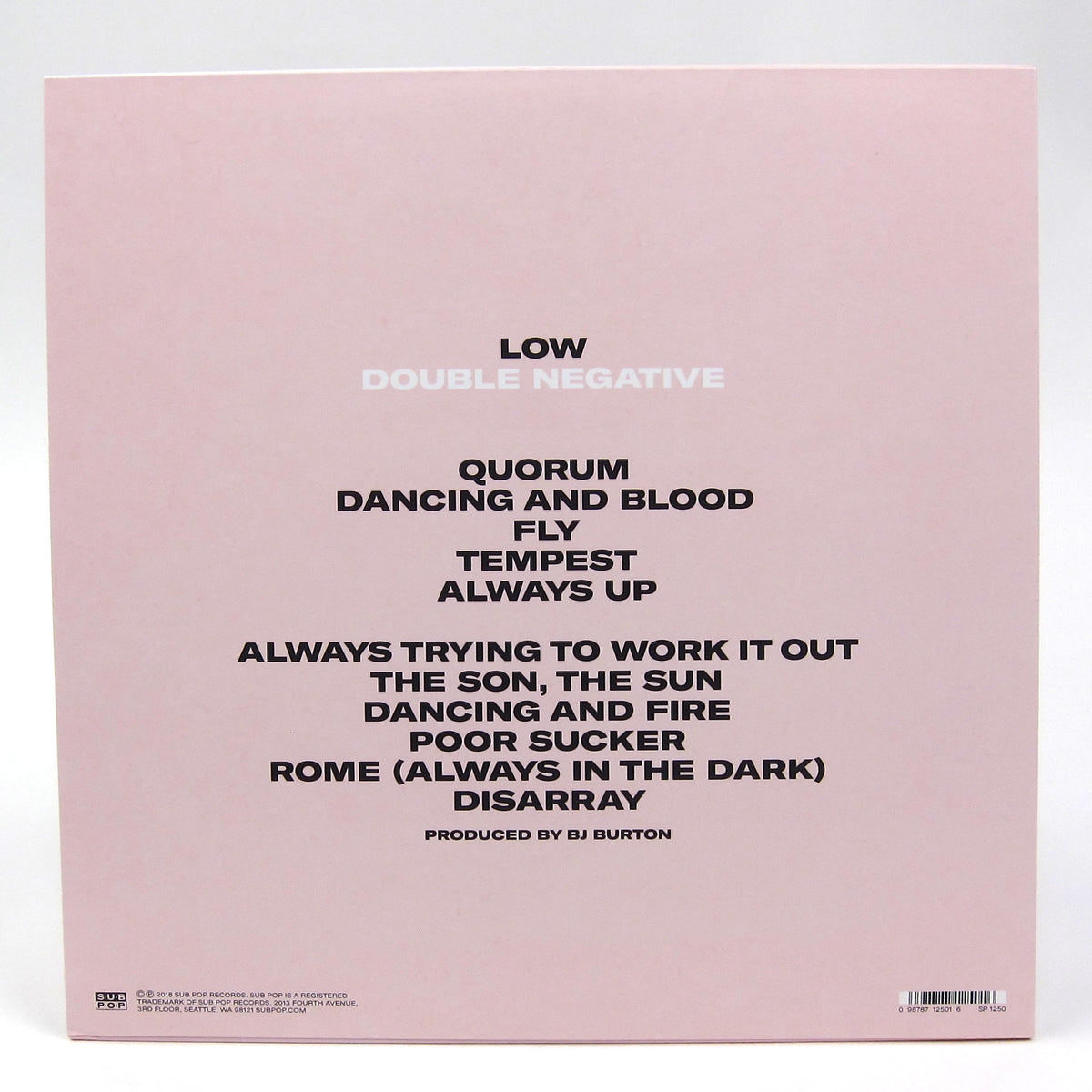 Low: Double Negative (Loser Edition Colored Vinyl) Vinyl LP