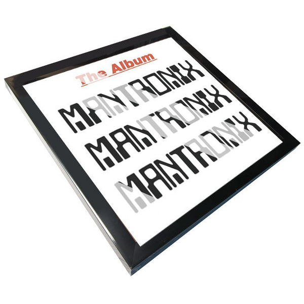 Record Supply Co: LP Jacket Frame - Black