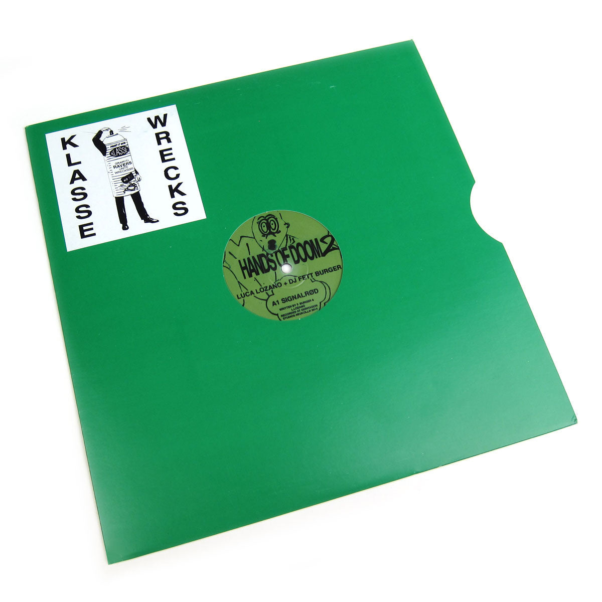 Luca Lozano & DJ Fett Burger: Hands Of Doom 2 Ep Vinyl 12""