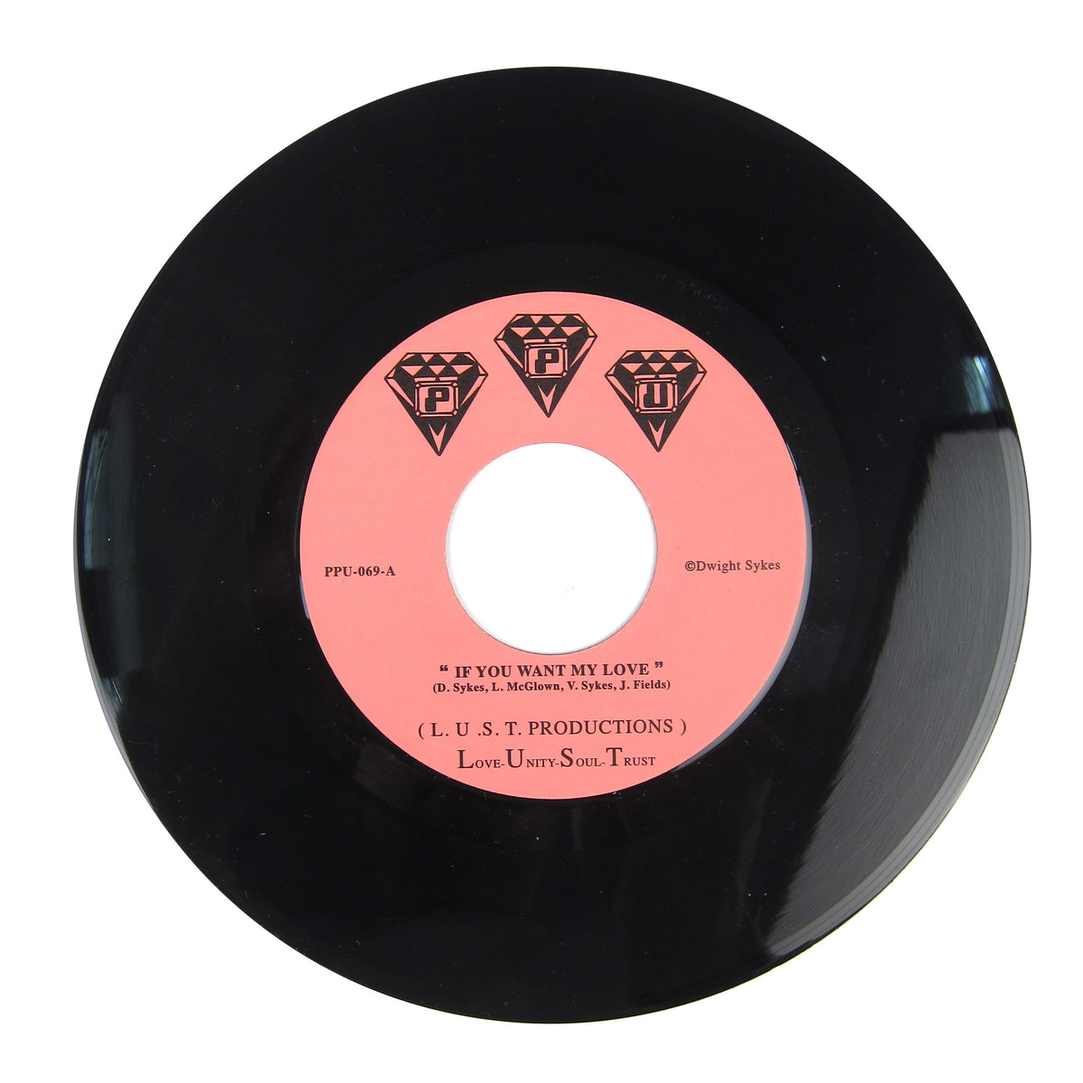 L.U.S.T. Productions: If You Want My Love / You That I Need Vinyl 7""