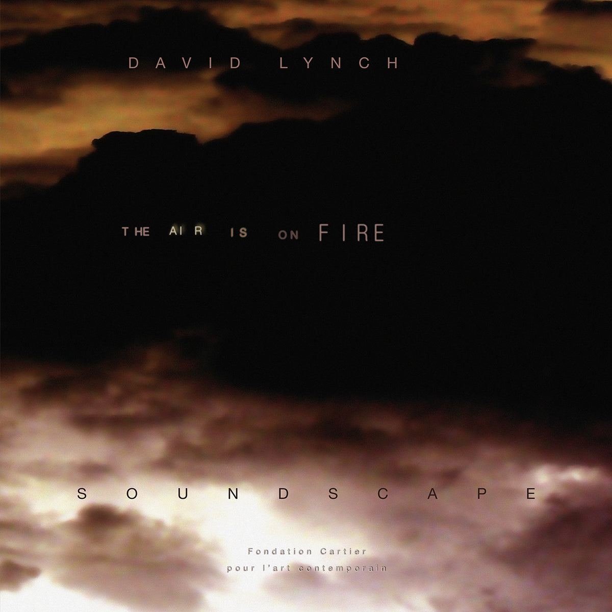 "David Lynch: The Air Is On Fire Vinyl 12"" (Record Store Day 2014)"